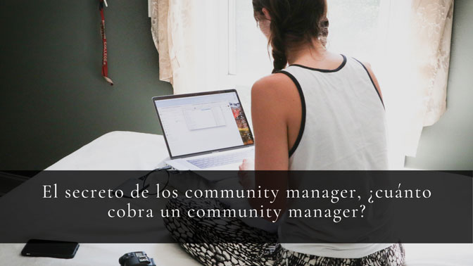 cuanto cobra un community manager